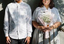 Nadya & Ade prewedding by Monokkrom