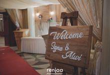 Igna & Alwi Wedding Day by renjaa photography