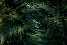 Engagement of V & I by Art Bride