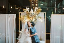 Bayu Risa & Monita Tahalea Wedding Day by Venema Pictures