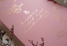 Pink Botanical by Trouvaille Invitation