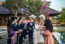 Intimate Blue Wedding at Ocean Wedding Uluwatu by Mira Mi Bali Wedding