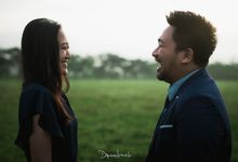 Eggy and Afina Prewedding by Drawbook Project