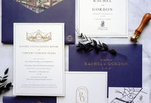 Simple Elegance by Trouvaille Invitation
