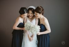 Jonathan & Malda - Elegance in Blue by MALVA Bridesmaids
