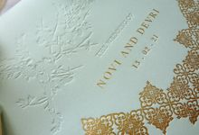 Foliage Morrocan by Trouvaille Invitation