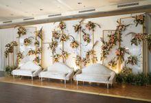 William & Devi Wedding At Glass House Ritz Carlton by Fiori.Co