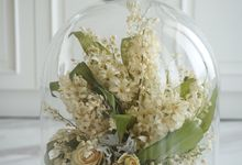 A Bouquet Of Lily of the Valley and Hyacinthus by CONSERVÉ FLOWER PRESERVATION