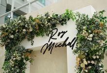 Roy & Michelle Wedding At Hotel Santika Slipi by Fiori.Co