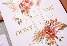 Citrus Fall by Trouvaille Invitation