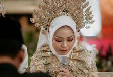 Dila & Hadi Wedding - Gedung Kesatrian Soekarno Hatta BIN by Get Her Ring