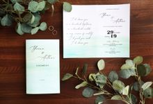 BIFOLD Invitations by Gifu Invitation & Souvenir