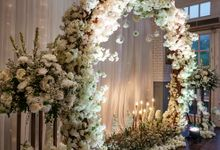 The Wedding Of M & L by GLORIOSA DECORATION