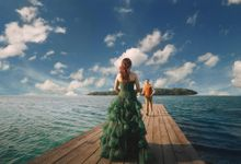 Simon & Ivana prewedding at pulau seribu by GoFotoVideo