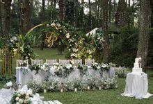 Toto & Pricilla Wedding At Pesona Alam by Fiori.Co