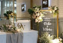 Ochie & Wisnu Wedding at Wyl's Kitchen by Fiori.Co