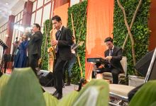 The Wedding of Rifqi & Caca by Cresenza Music Entertainment