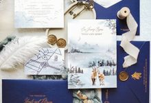 Winter Wonderland by Trouvaille Invitation
