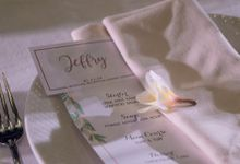 Jeffry & Dian Wedding Reception by Le Grande Bali Uluwatu