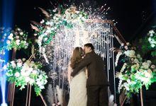 Robbyn & Jessica Wedding Reception by Golf Graha Famili