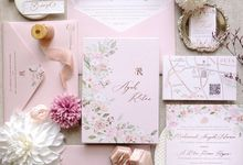 Sweet Romance by Trouvaille Invitation