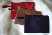 Suede Pouch for Ria & Fariz by Tjenda Gift