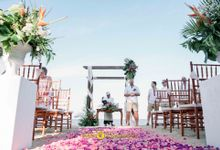 Dan & Hayley Wedding by Holiday Inn Resort Bali Benoa