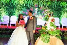 Tropical Garden Wedding by Tropical Majik