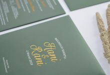 Hani & Rani by Krisan Invitations