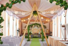 Gold Decoration Package 2 by Zanita Decoration