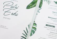 Putri & Erka Wedding Invitation by Krisan Invitations