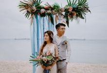 Beach Wedding Inspiration Style Shoot by Carat 55