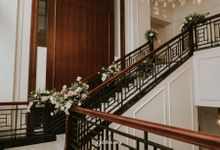 Monika & Hendro Wedding Reception The Hermitage Hotel by Get Her Ring