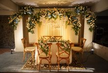 Akad Nikah Hani & Barok by Garis Decoration