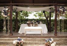 Aris & Ria Wedding At Rasa Resto Ayana Mid Plaza by Fiori.Co