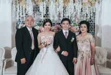 Citra & Chris Resepsi at Angke Restaurant by GoFotoVideo