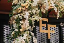 THE WEDDING OF E & F by GLORIOSA DECORATION