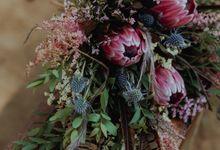 Bohemian Wedding in The Woods by Atelir KSS