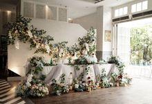 Intimate Wedding At Wyls Kitchen Pakubuwono by Fiori.Co