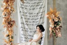 """This is the miracle I've been dreaming of.""❤ by Gorgeous Bridal Jakarta"