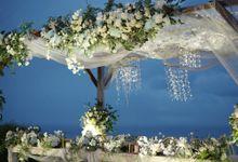 Michael & Marhensia Wedding At Villa Plenilunio by Fiori.Co