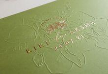 Kiki And Aksha by Vinas Invitation