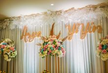 THE WEDDING OF A & Y by GLORIOSA DECORATION