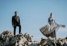 Rizka dan Angga Prewedding by renjaa photography