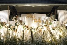 Satya & Shelly Wedding at Suasana Restaurant by Fiori.Co