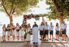 Alexis and Simon - Wedding at Hai Tide Beach Resort Nusa Lembongan by Hai Tide Weddings