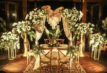 Akad Nikah Sasa & Adit by Garis Decoration