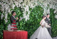 Wedding of HENDRA & SHENDY by Aldo Adela MC & Magician