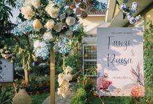 Raisa & Fawzi Intimate Akad at Home by Monokkrom