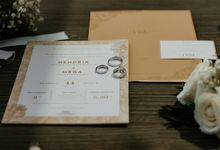 The Wedding of Hendrik & Mega by Memoira Studio